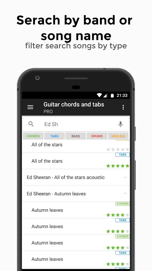 Guitar chords and tabs PRO 2.8.8 APK Download - Android Music ...
