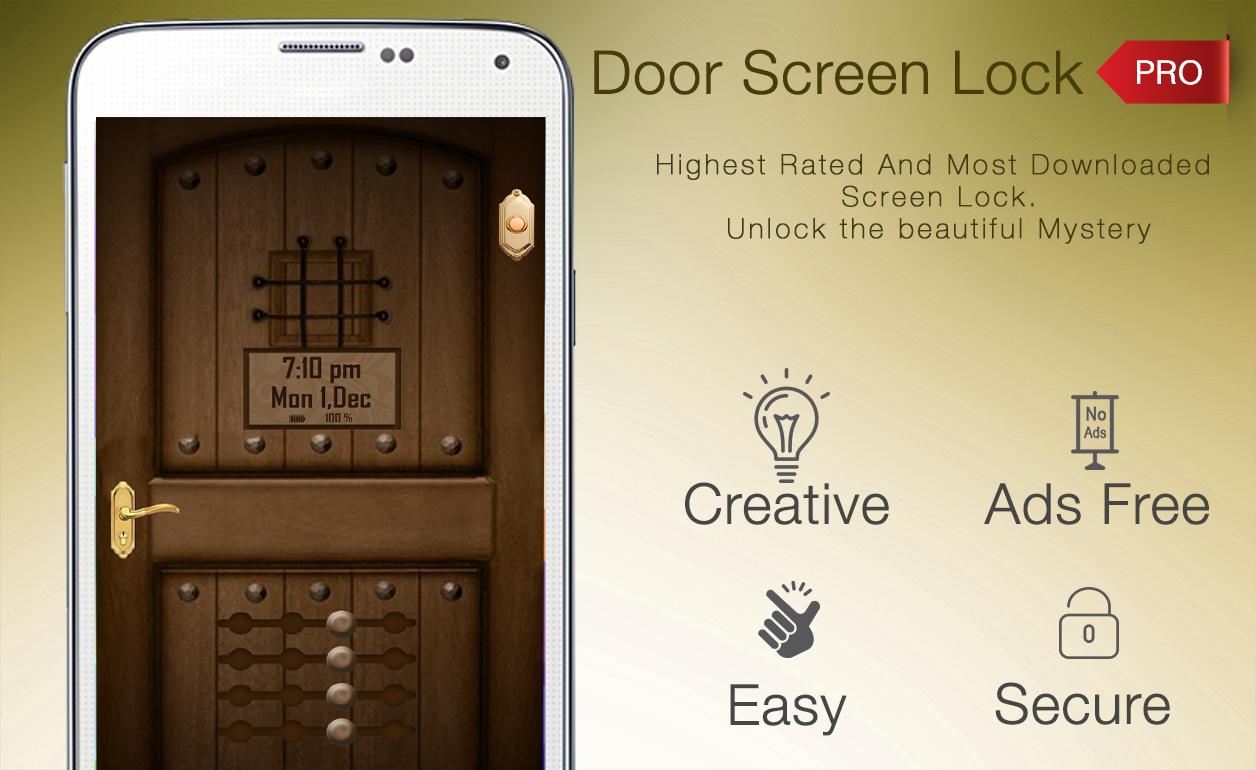 Door Lock Screen Pro 31 Apk Download Android Personalization Apps