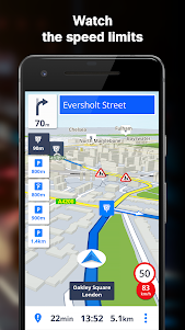 GPS Navigation & Offline Maps Sygic 17.4.11 screenshot 3