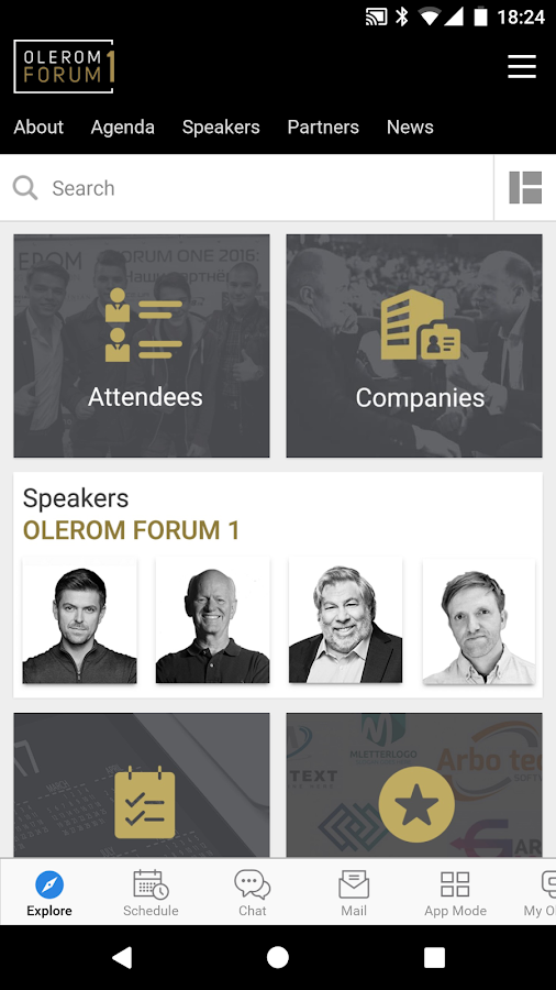 31d0079d7e6c OLEROM FORUM 1 Conference 8.1.10 APK Download - Android cats.events Apps