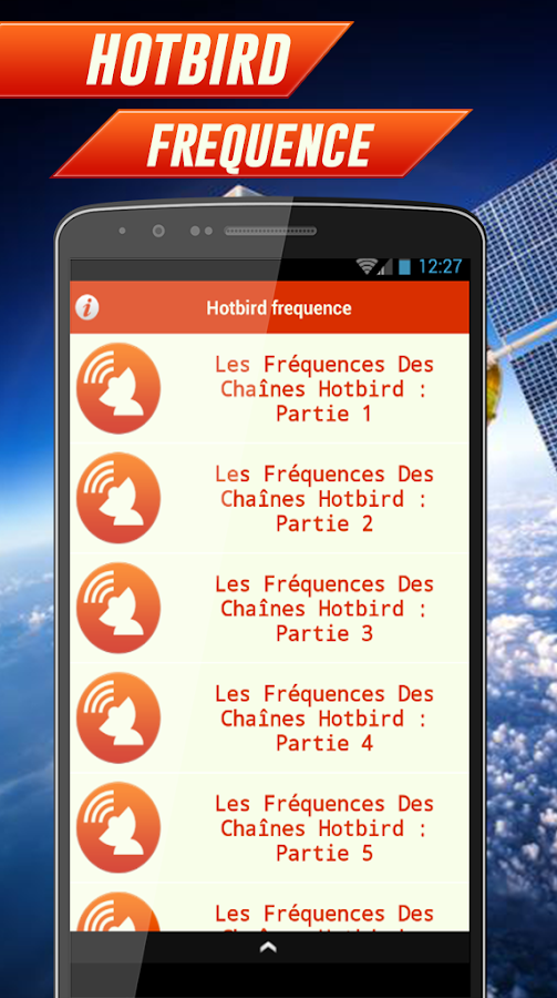 Channels Hotbird Frequency 1.0 APK Download - Android Entertainment Apps