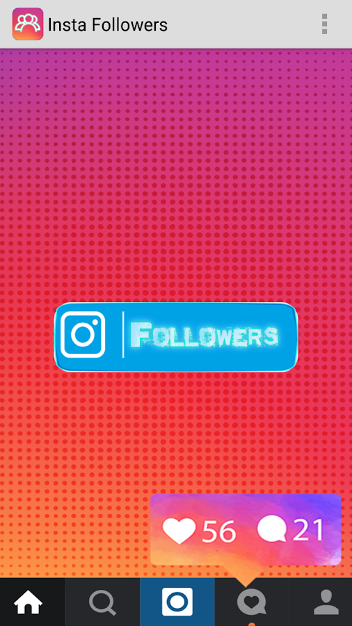 Get Insta Followers Simulator 1 0 Apk Download Android