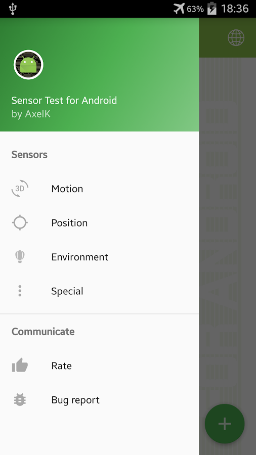 Sensor Test for Android 2 1 1 APK Download - Android Tools Apps