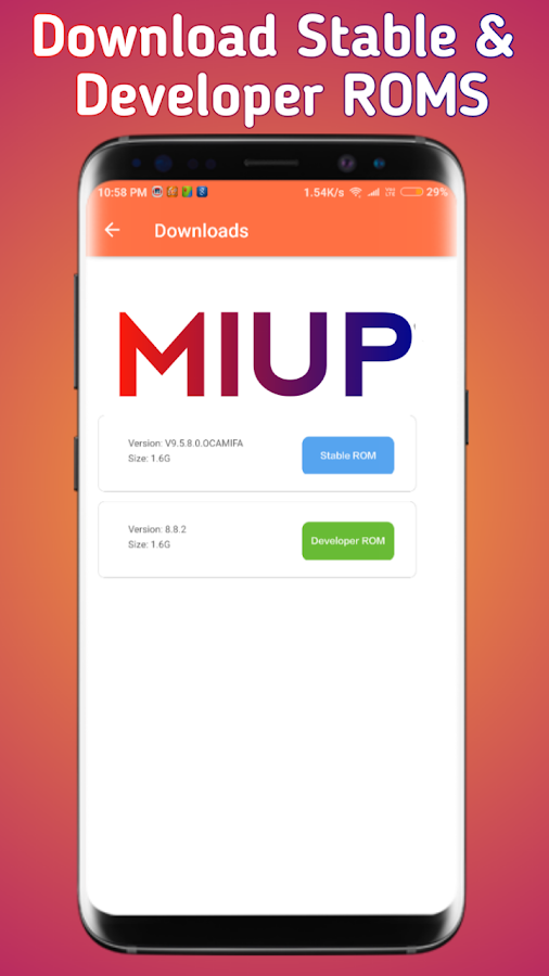 MIUP - Update MIUI 10 , MIUI Hidden Settings, News 4 0 APK