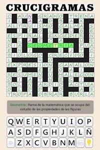 Crosswords - Spanish version (Crucigramas) 1.1.8 screenshot 13