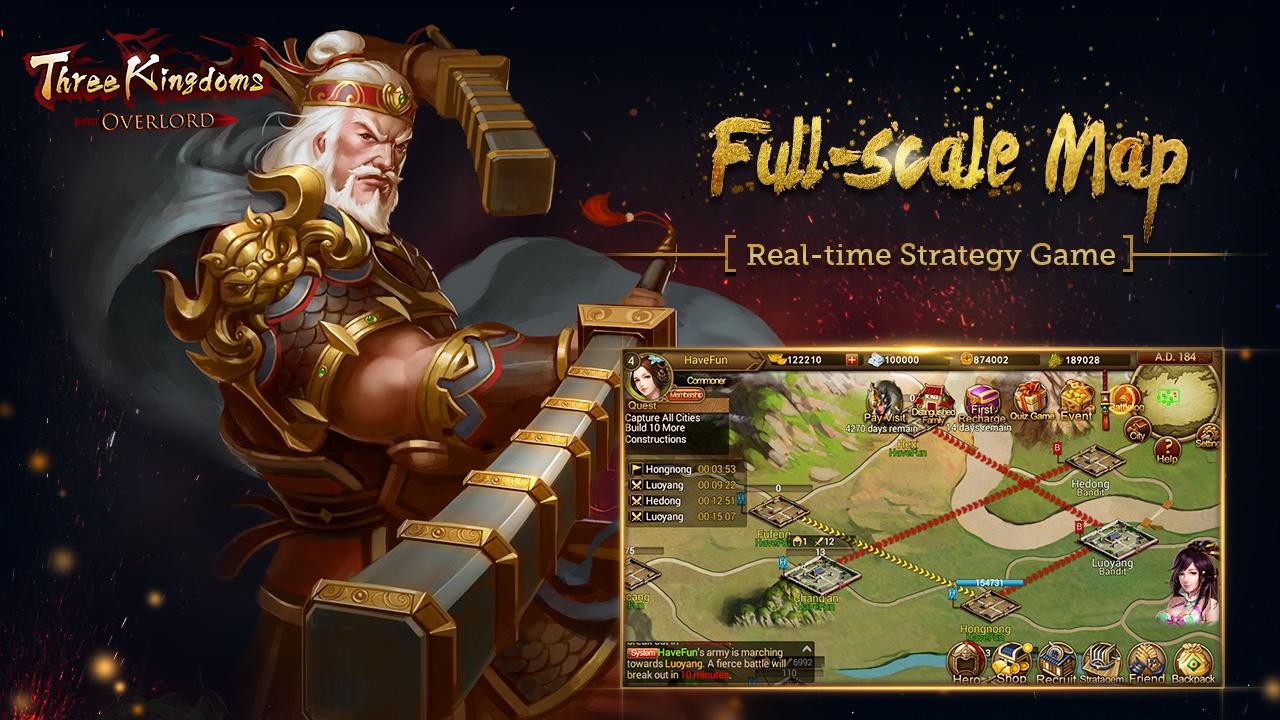 Three Kingdoms: Overlord 2 6 0 APK Download - Android