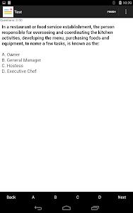 CCP(Culinary) Exam Prep 1.0 screenshot 7