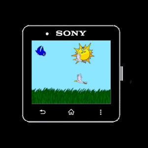 FloppyBird for SmartWatch2 1.0 screenshot 1