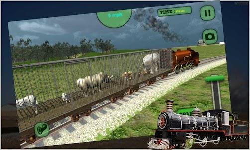 Animal Train Transport 1.0 screenshot 1