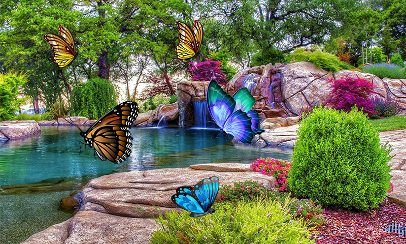3D Butterfly Live Wallpaper 14 Screenshot 1