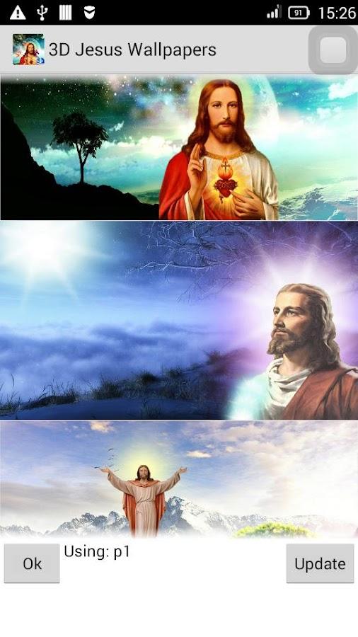 3D Jesus Wallpapers 530 Screenshot 7