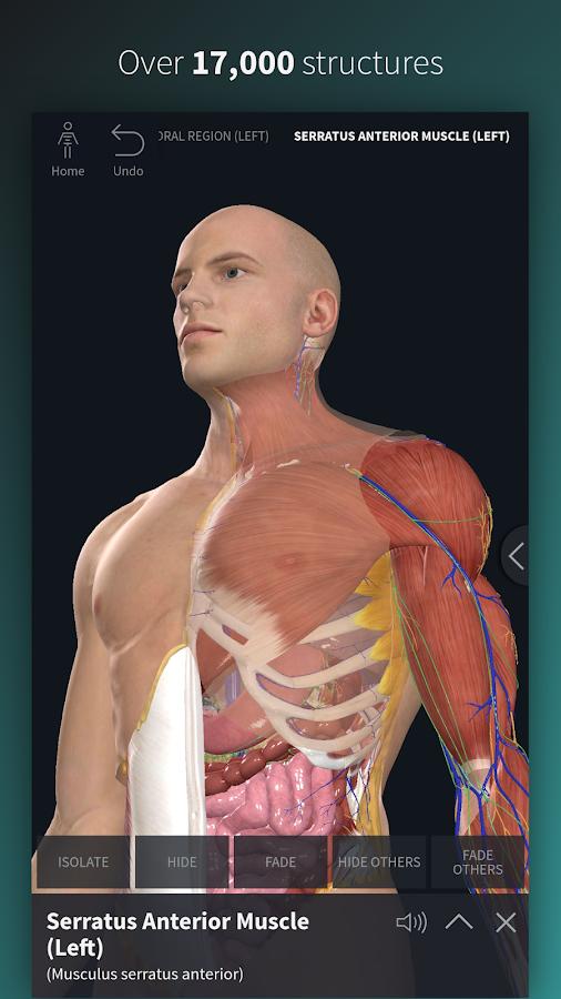 com a3d4medical completeanatomy 5 0 0 APK + OBB (Data File) Download