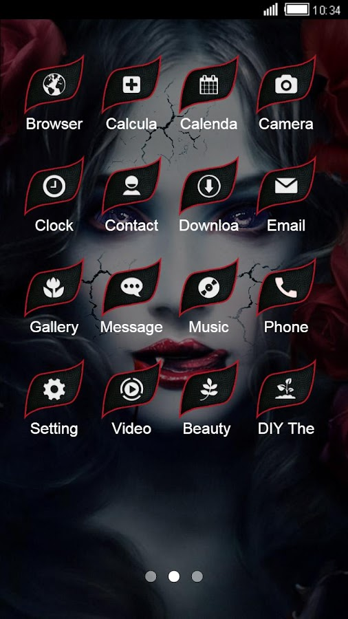 Demon Launcher Theme: Vampire Love Story Wallpaper 1 0 2 APK