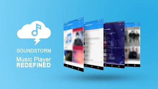 SoundStorm - Mp3 Music Player 1.0 screenshot 1