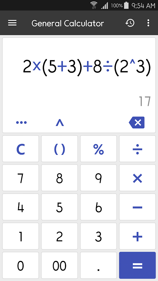 Clevcalc Calculator 2161 Apk Download Android Productivity