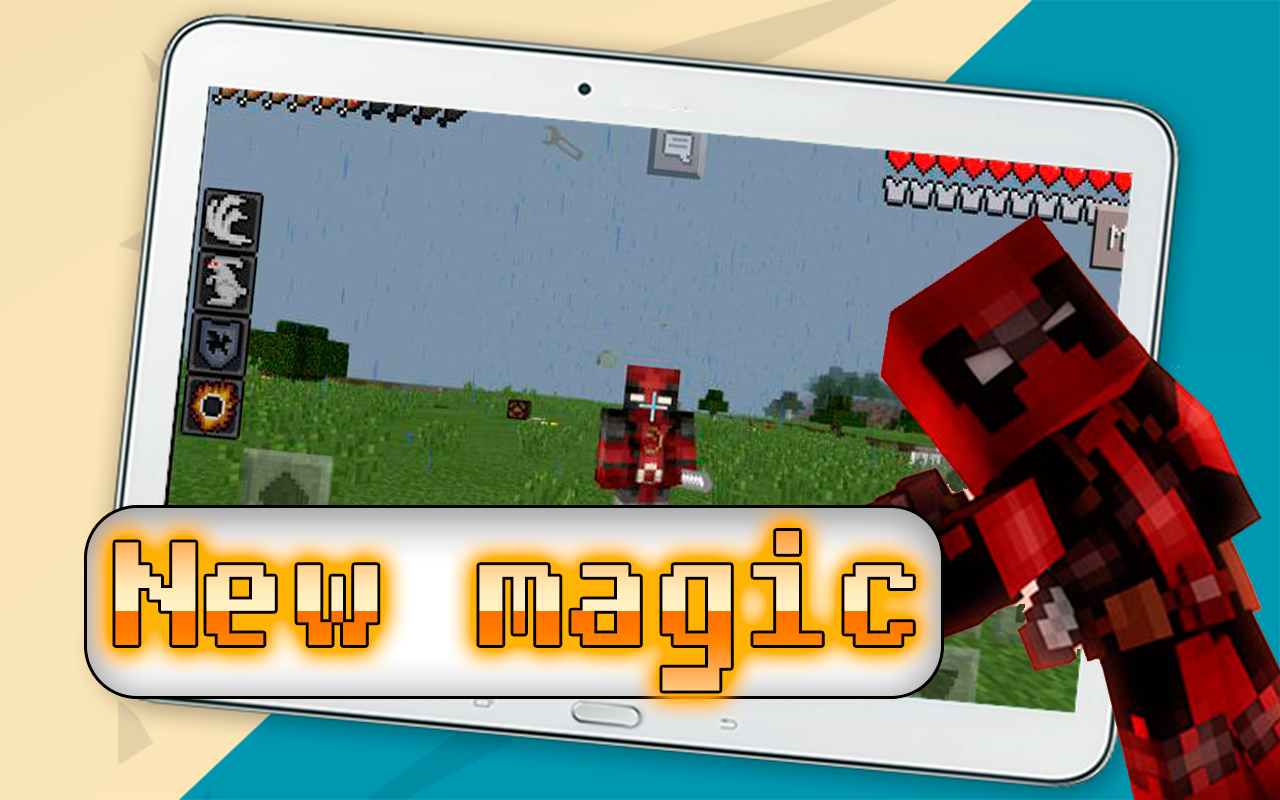 mod deadpool for minecraft 1 apk download android entertainment apps