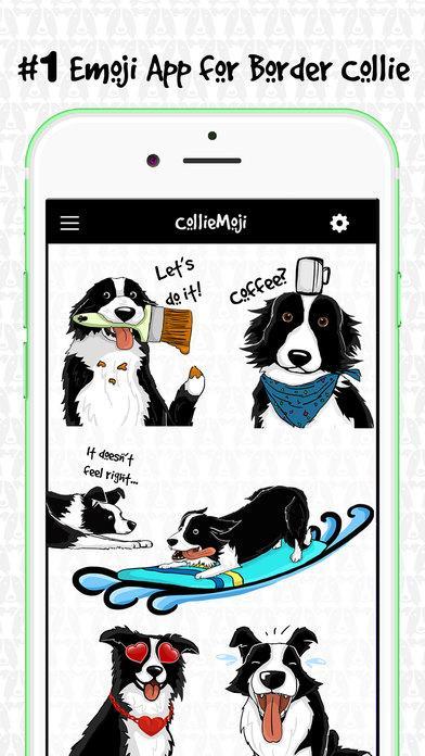 CollieMoji - Border Collie Emojis & Dog Stickers 2 2 APK Download