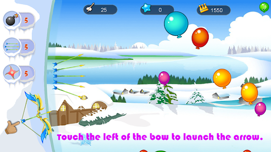 Balloon Shooting HD 1.2 screenshot 1