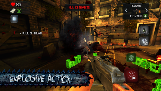 KILL DEAD: Zombie Shooter Call 1.5 screenshot 8