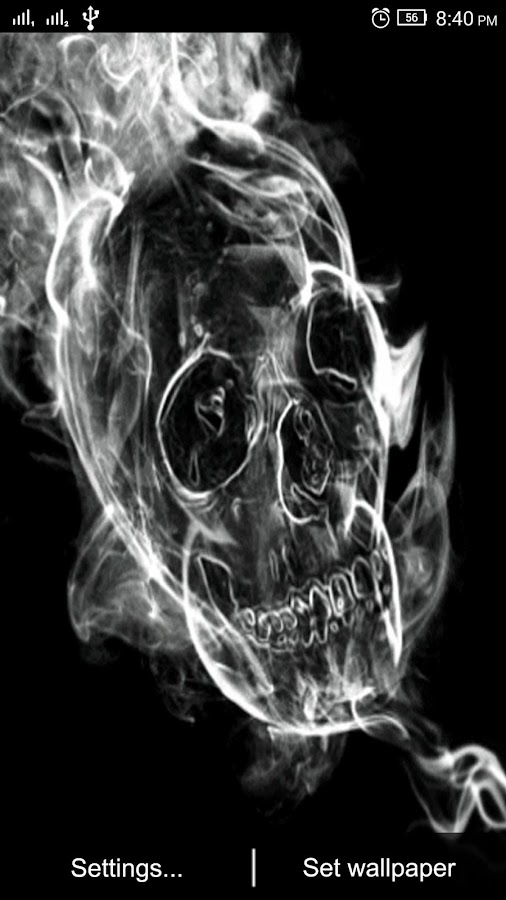 3D Skull Live Wallpaper 1 2 APK Download - Android