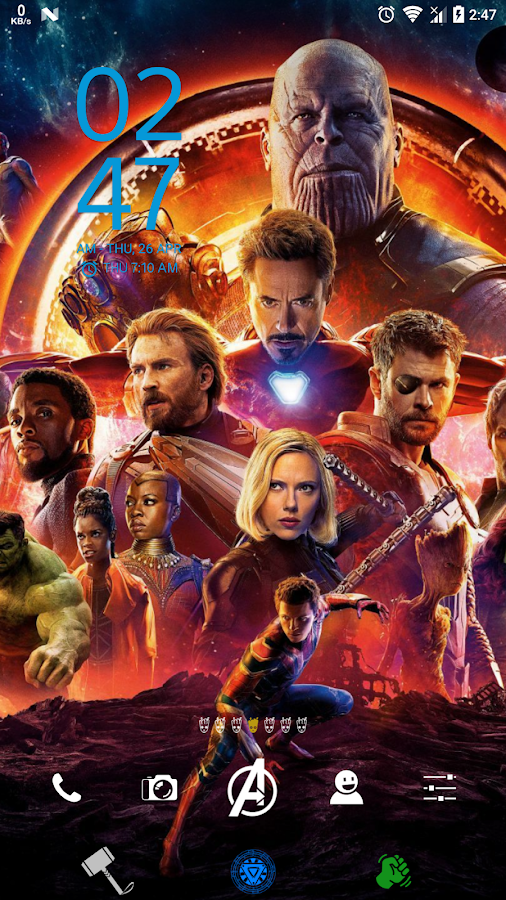 XPERIA Avengers Infinity War Theme 1 0 0 APK Download - Android