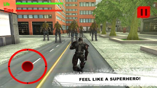 Rope Hero: Zombie Survival 2.0 screenshot 1