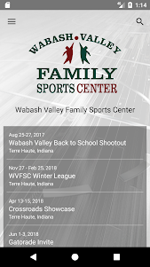 Wabash Valley Family Sportscenter 5.0.1 screenshot 1