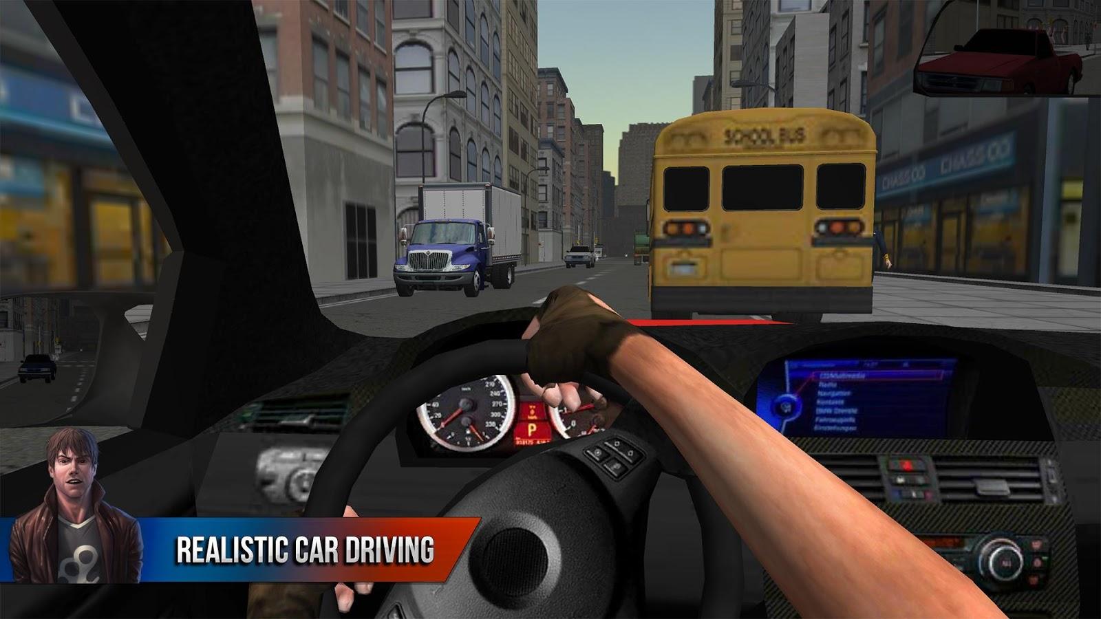 racing in city car driving mod apk download