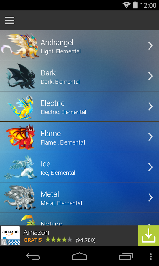 Breeding Guide for Dragon City 3 1 2 APK Download - Android