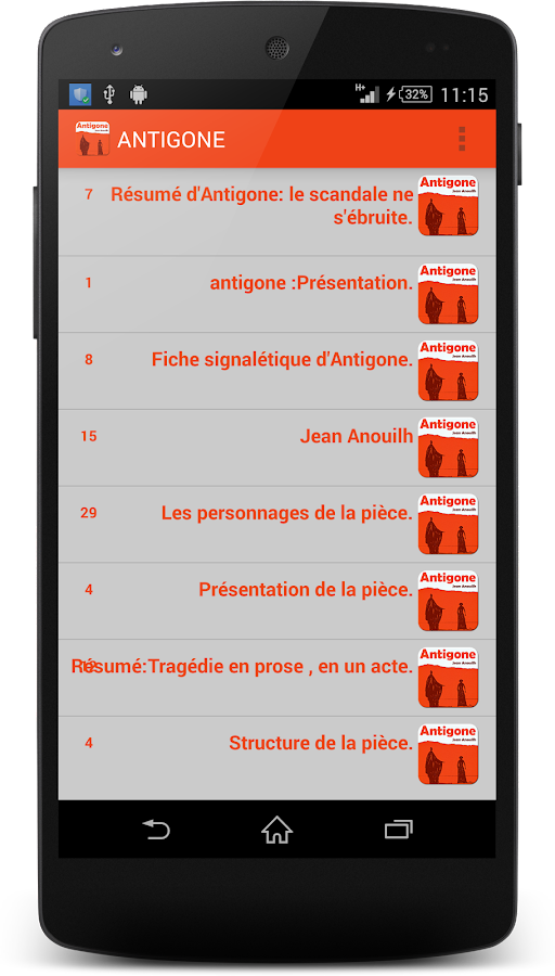 antigone resume et analyse 1 0 apk download android books