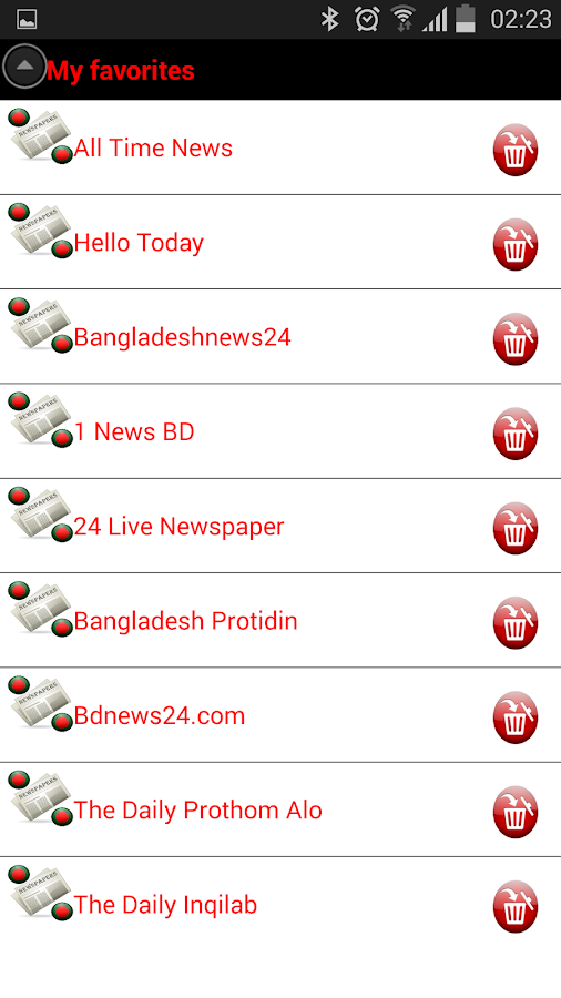 BANGLADESHI NEWSPAPERS ALL BANGLA NEWSPAPER BD NEWS - The
