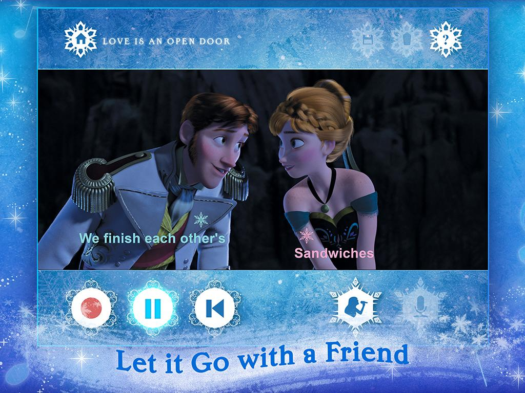 Disney Karaoke: Frozen 02.00.11 APK Download - Android Entertainment ...