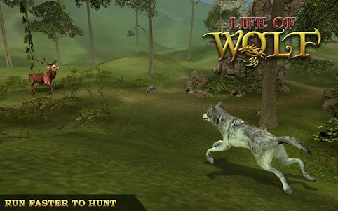 Animal Hunting Survival Game – Wolf Simulator 1.7 screenshot 5