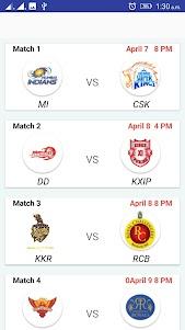 IPL Cricket 2018 1.1 screenshot 2