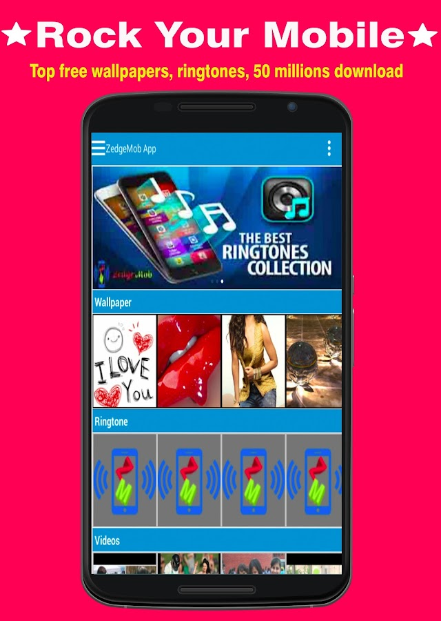 Ringtones Wallpaper Zm 30 Apk Download Android