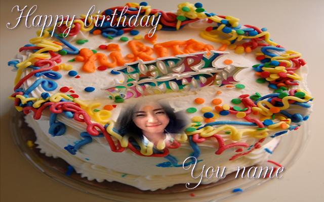 birthday cake photo frame name 1 0 APK Download - Android