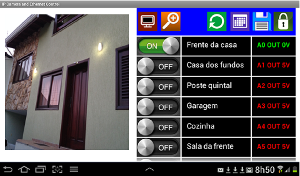 Arduino Camera IP Wifi Control 1 2 APK Download - Android