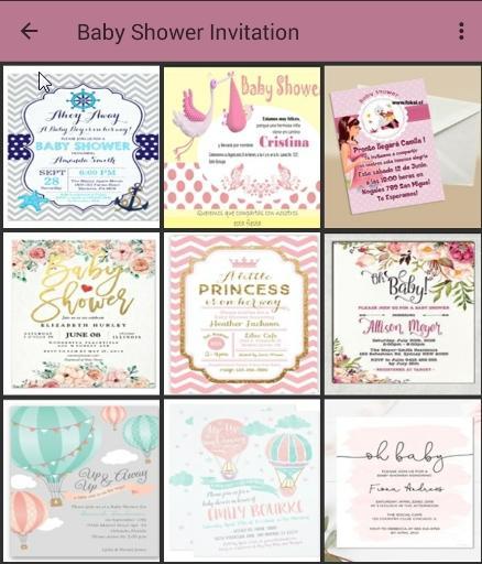 100 Baby Shower Invitation Card Design 1 0 0 Apk Download