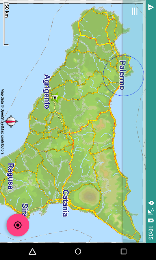 Offline Map Sicily, Italy 9.6 APK Download - Android Travel ...