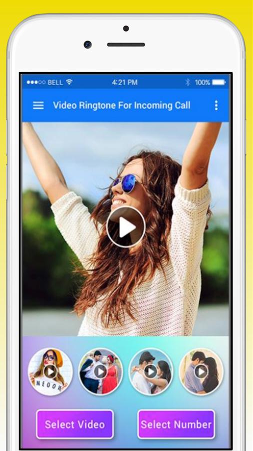 music video ringtone app