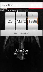 Death Calculator 1.18 screenshot 2