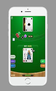 Blackjack AJ 1.0 screenshot 2