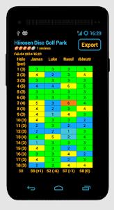 Disc Caddy 2 - Disc Golf app  screenshot 4