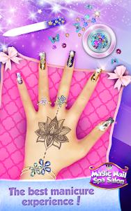 Magic Nail Spa Salon:Manicure Game 2.3 screenshot 8