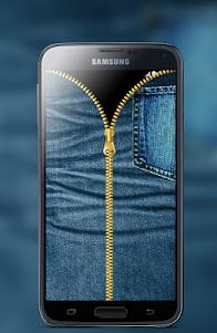 Jeans Zipper Screen Locker 1.1 screenshot 3
