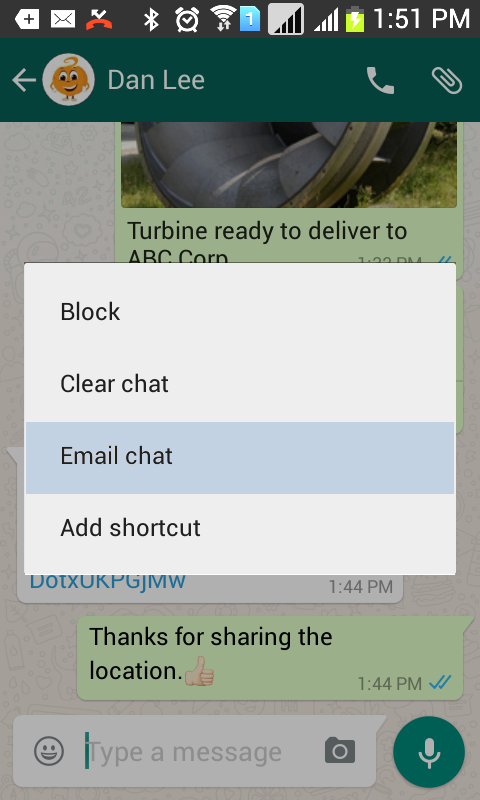 Bag A Chat For Whatsapp Hike