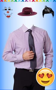 Men Shirt With Tie Photo Suit Maker 1.0.9 screenshot 9