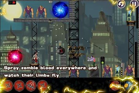 Ninja Girl - Zombie 1.0.1 screenshot 4