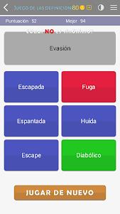 Crosswords - Spanish version (Crucigramas) 1.1.8 screenshot 4