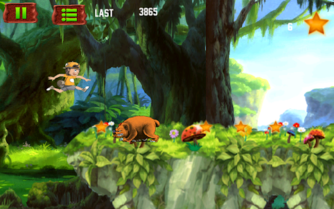 Amazing Jungle run 3.0 screenshot 17